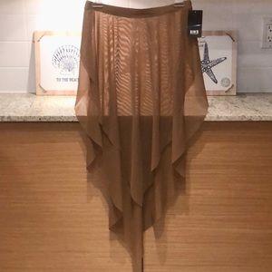 BLOCH Mesh Beach/Dance Skirt